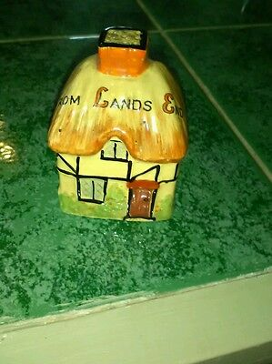 W. H goss crested ware the first and last house pottery cottage