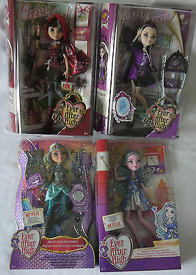 Ever After High Puppen Cerise Hood Raven Queen Darling Charming Fairy Dolls Lot
