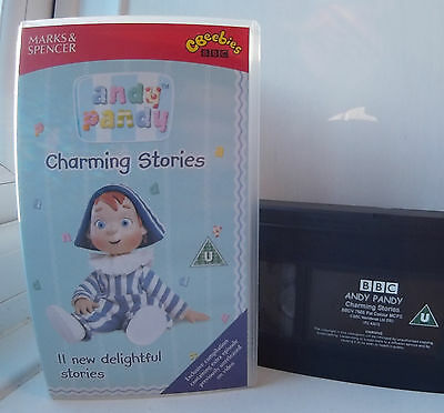 Andy Pandy Charming Stories - 11 Stories BBC VHS Video