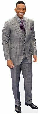 Will Smith Cardboard Cutout (life size OR mini size). Standee. Stand Up.