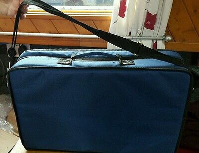Lapman Dark Bluetravel Case For Sewing, Cross Stitch, Embriodery. Never Used