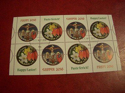 Romania Used  Cto  Stamps  - 2016 - Easter -  Kb