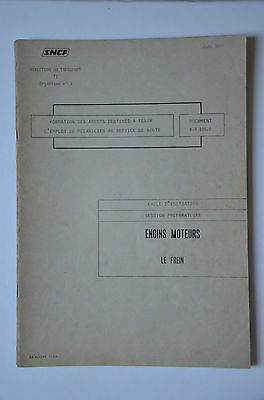 Chemins de Fer - Ancien document 1978 - Engins moteurs