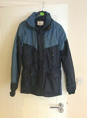 Harry Hall Blue And Navy Coat - Size M
