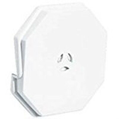 Builders Edge Mounting Block Octagon White 1.3001E+11