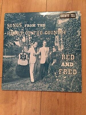 Red Rector & Fred Smith ~ Songs From The Heart Of The Country ~ Rare Vinyl LP