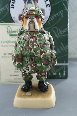 100 Limited Edition Bulldog Be The Best Woodland Dp208G Robert Harrop Mib
