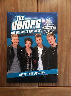 The Vamps. The Ultimate Fan Book + Large Poster Set. Brand New. L@@k