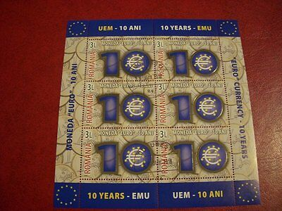 Romania Used  Cto  Stamps  - 2009 - 10 Years - Emu