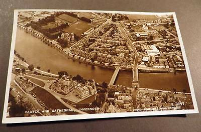 INVERNESS c1950s Real Photo Aerial View