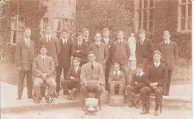 Postcard of Fairwater Football Team 1913 believed to be Cardiff