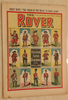 THE ROVER, No. 1460, 20th June 1953 - BRITISH ARMY UNIFORMS FROM 1642 to 1846