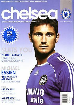 Chelsea Official Mag Sept 2006 - Must For Blues Fans! Vgc