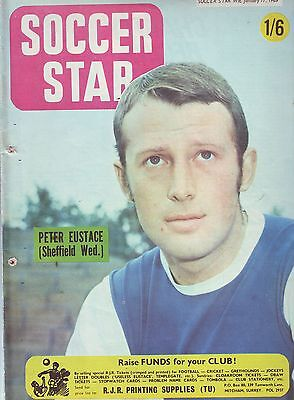 Soccer Star 17 Jan 1969 Football Mag Vgc. Inc -Northampton Colour Team Pic.
