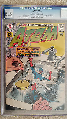 The Atom #2 CGC 6.5 Fine+ (Aug-Sep 1962, DC)
