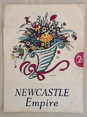 1941 GEORGE FORMBY at the Newcastle Empire. RARE Wartime Programme.