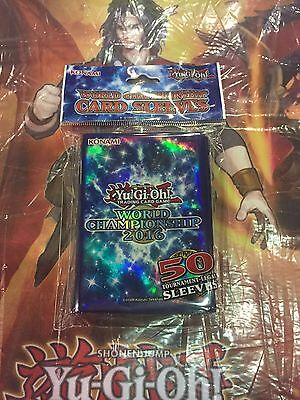 Yugioh World Championship 2016 Sleeves. Brand New Only Available At The Worlds