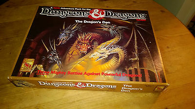 Tsr D&d Dungeons And Dragons Board Game - The Dragons Dragon's Den Boxed