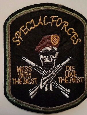 Special Forces Iron on Patch Brand New Iron on Sew on embroided patch