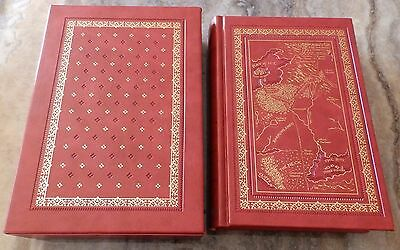 A Game of Thrones Leather Deluxe Slipcase Edition, George R. R. Martin, NEW