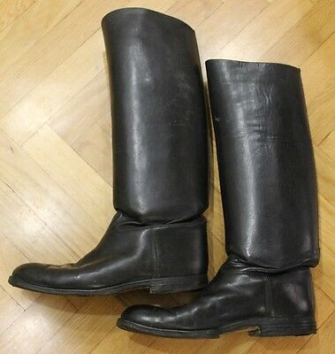 Orig. German Ww2 Wh Officer's Jack Boots Good Condition See It A