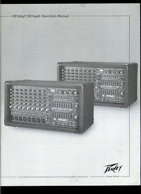 Peavey xr 684 user manual pdf download.