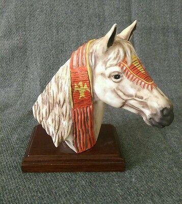 1984 Vague Shadows Limited Edition Arapaho Tribal War Pony by Gregory Perillo