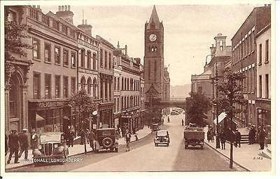 Postcard Guildhall Londonderry