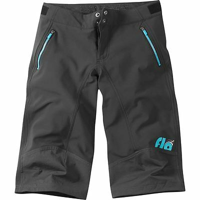 Madison SHORT Flo softshell Womens Black/AQ BE 10 | Size Size 10 | Colour Black