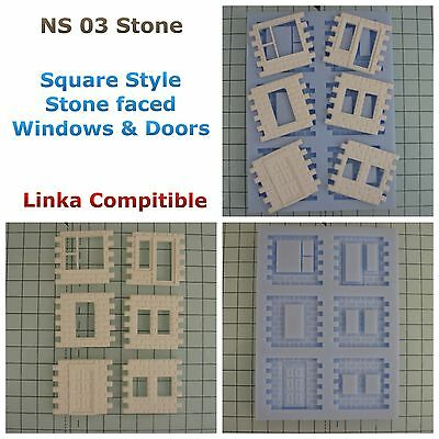 Linka Compatible NEW NS03 Stone Faced Mould New Windows Design And New Doors