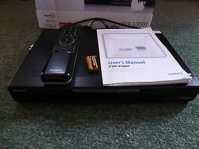 Humax PVR-9300T DVR Digital TV Freeview Recorder HDMI Remote Control