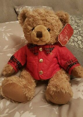 Limited Edition Harrods 2014 collectable Christmas Teddy Bear Jasper with Tag