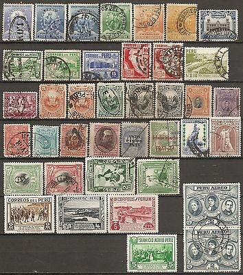Peru  Earlies Unused & Used Collection [Q58]