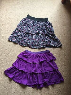 2 Girls Skirts H&m And Gap 10-11
