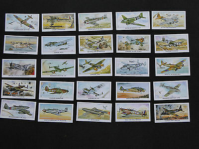 A Rare Set full set of  Spitfire Warplane cards by Shepherd Neame- MINT