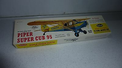 Piper Super Cub 95 Balsa Classic Kit Scale flying model Guillows #303
