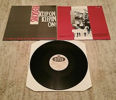 "Redskins - Keep On Keepin On! - UK 12"" Single + Inner Sleeve"