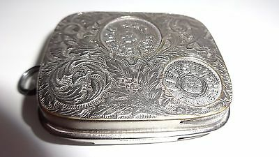 VINTAGE JWB PATENT SOVEREIGN CASE 5 SIZED COIN HOLDER FROM 1800's - MINT!