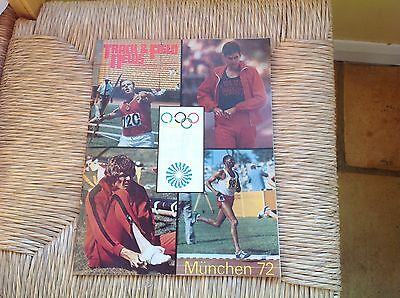 Track & Field News 1972 Olympic Review Issue