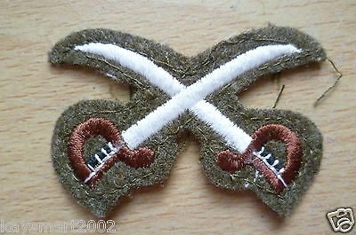 Patch- Crossed Swords Unknown Cloth badge / Patch - 40x58 mm- New*