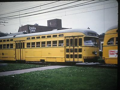 Shaker Heights Trolley/Railroad Slide Terminal Local Car #73