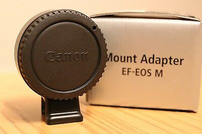 Genuine Canon EF-EOS M Adapter For EF / EF-S Lens to Eos-M - M2 - M3 body