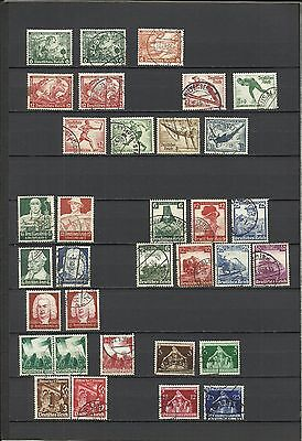 Germany Early Third Reich including Wagner, Olympics etc. used and unused