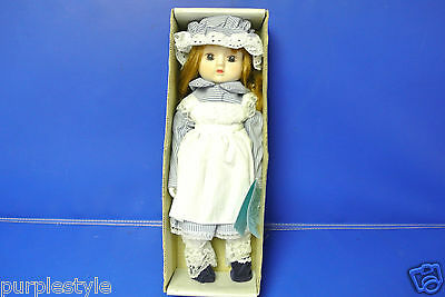 """1983 Porcelain Doll Chubby By Dynasty Doll Collection/box 15"""""""