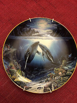 Moonlit Moment collector's plate Danbury Mint Plate No. G2171