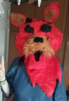 FNAF Foxy the pirate fursuit