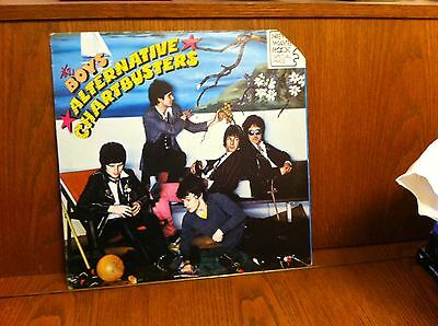 the BOYS  ALTERNATIVE CHARTBUSTERS. LP made in Italy 1978 VG++