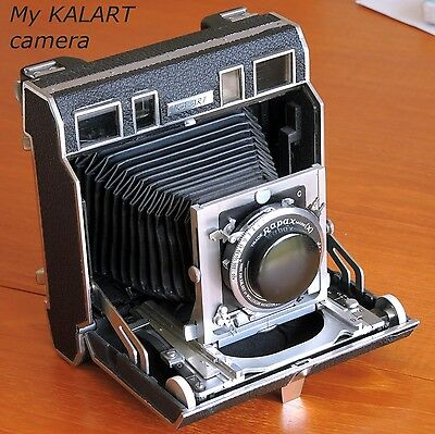 "The Amazing  KALART CAMERA     ""Miracle of Completeness""       A joy to restore."