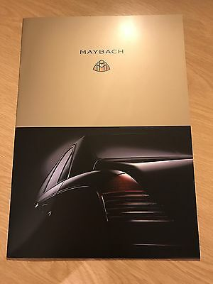 2003 Maybach 57 & 62 Brochure