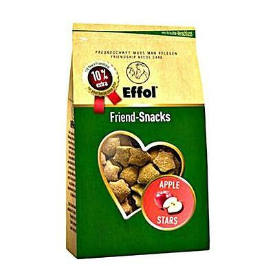 Effol Friend-Snacks - Apple Stars - 550g bag - Horse Equestrian Horse Feed